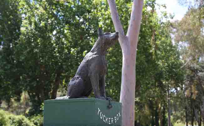 The Dog On The Tuckerbox - 9 Miles From Gundagai